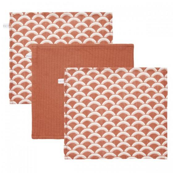 Little Dutch wipes (3 pcs.) Sunrise Rust / Pure Rust