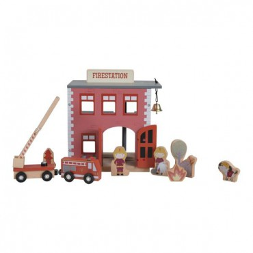 LITTLE DUTCH WOODEN fire station