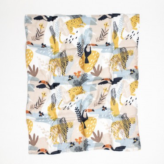 ColorStories - Pieluszka bambusowa 50x60cm - Jungle