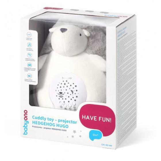 BabyOno cuddly - The projector HEDGEHOG HUGO