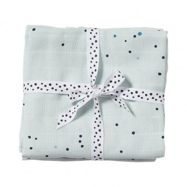 Dreamy done to Deer Dots Diaper 2p. Blue