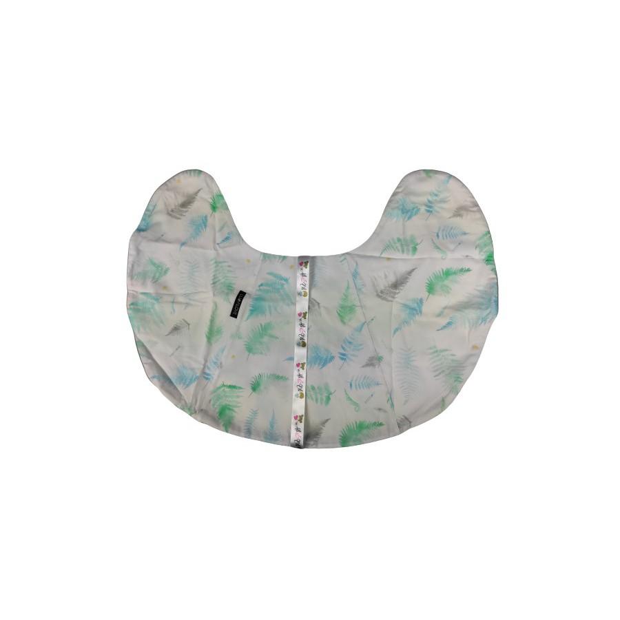 BACKUP LULLALOVE Pillow Micropost FERNS MINT