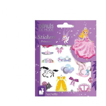 Janod set of stickers Princess Fashion Show