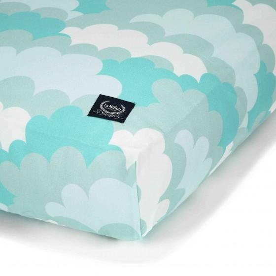 La Millou BEDSHEET GOOD NIGHT 70 x 140 cm - CLOUDY SKY