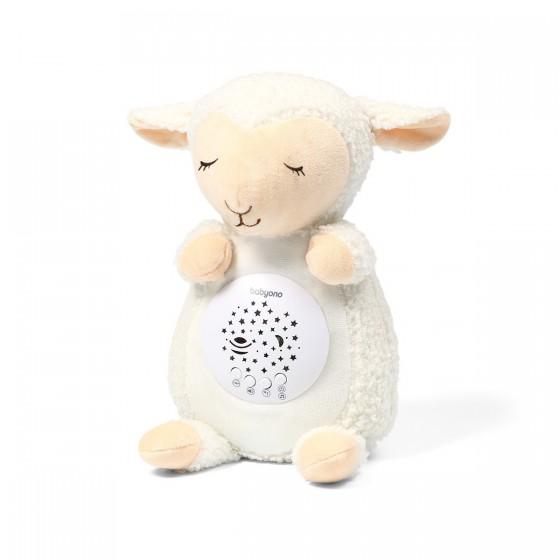 Babyono Przytulanka - projektor SHEEP SCARLET