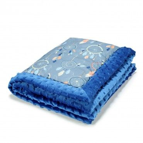 LA baby blanket Millou DREAMCATCHER ELECTRIC BLUE