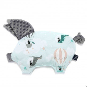 LA MILLOU PODUSIA SLEEPY PIG MISS CLOUDY GREY