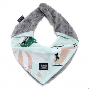 LA Millou very soft scarf MISS CLOUDY GRAY