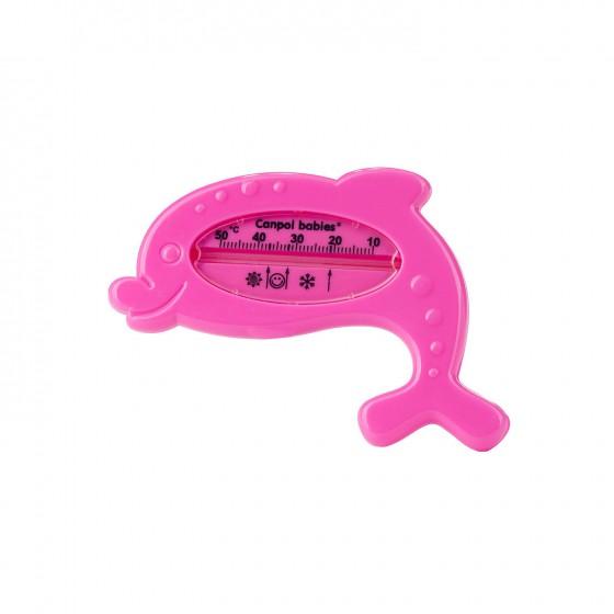 """Canpol Termometr kąpielowy """"delfin"""" pink"""
