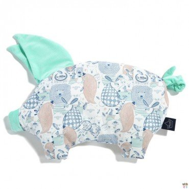 LA MILLOU VELVET COLLECTION PODUSIA SLEEPY PIG LA MILLOU FAMILY MINT