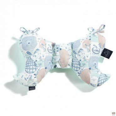 LA MILLOU PODUSZKA ANGEL'S WINGS VELVET COLLECTION LA MILLOU FAMILY MINT
