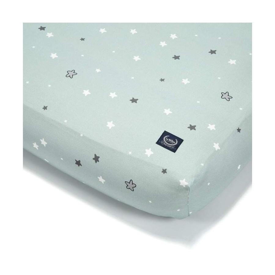 LA Millou SHEET GOOD NIGHT 60 x 120 cm UNICORN KNIGHT STAR