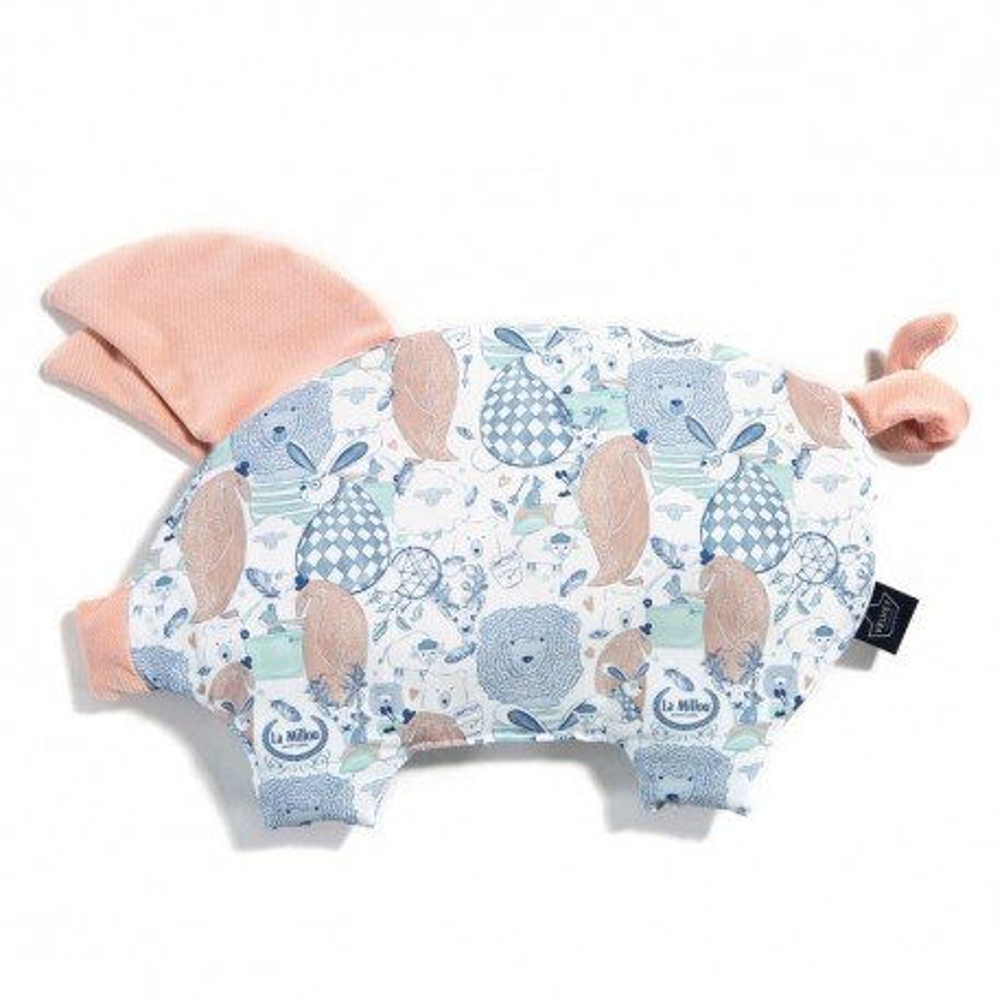 LA Millou VELVET COLLECTION pillow SLEEPY LA Millou FAMILY PIG