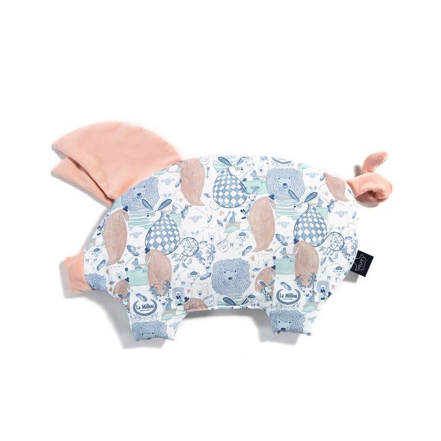 LA MILLOU VELVET COLLECTION PODUSIA SLEEPY PIG LA MILLOU FAMILY