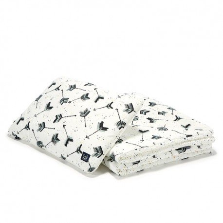 LA Millou BEDDING SET L BOHO ROYAL ARROWS DROPS