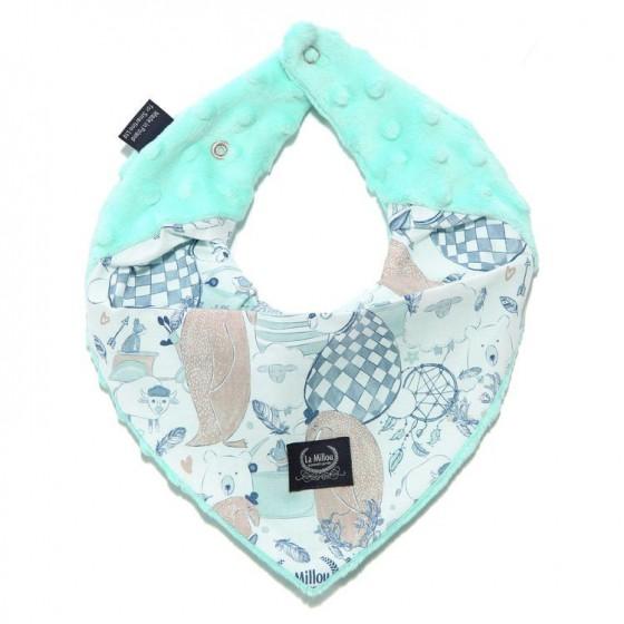 LA LA Millou very soft scarf Millou FAMILY OPAL
