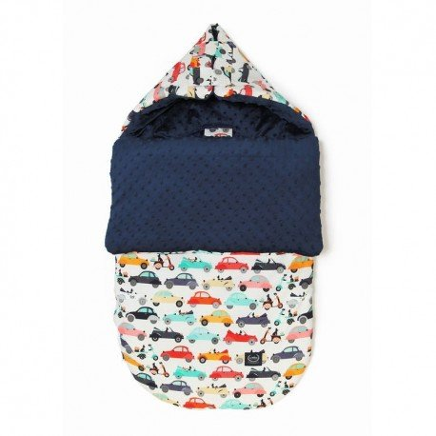 LA Millou stroller sleeping bag BAG PREMIUM M LA MOBILE NAVY