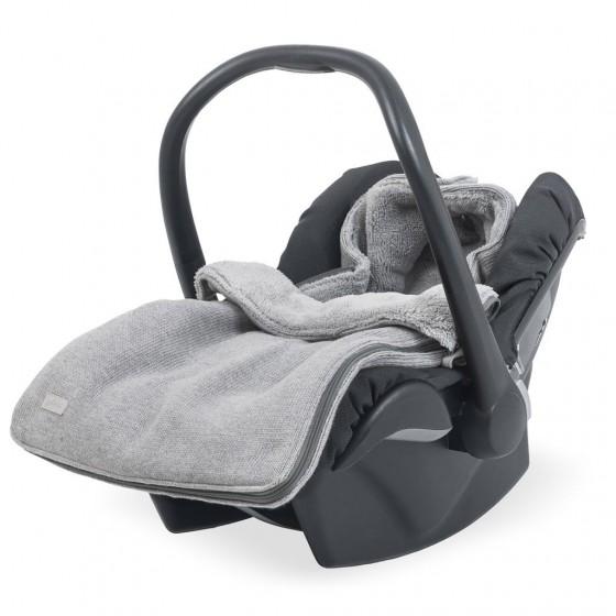 Jollein Śpiworek zimowy do fotelika / gondoli Natural Knit Szary 0-10 miesięcy