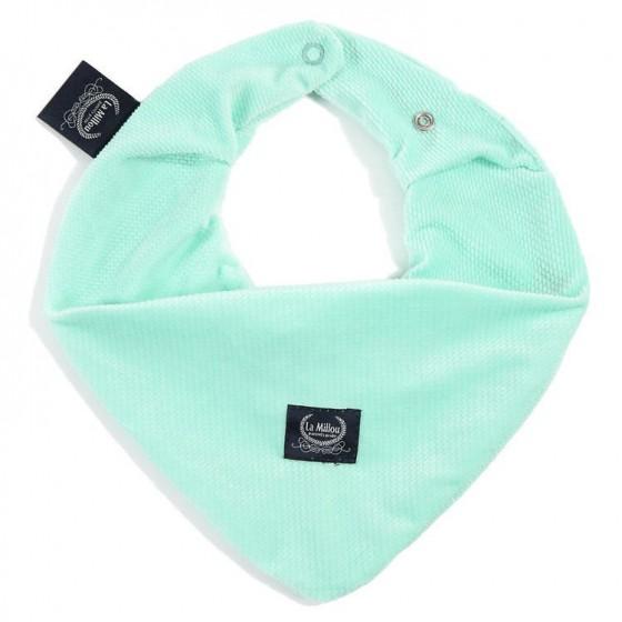 LA Millou VELVET COLLECTION very soft scarf MINT