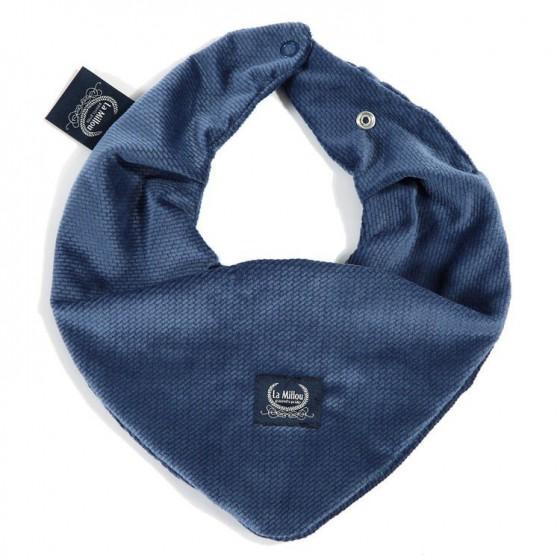 La Millou VELVET COLLECTION - WARM NECK - HARVARD BLUE