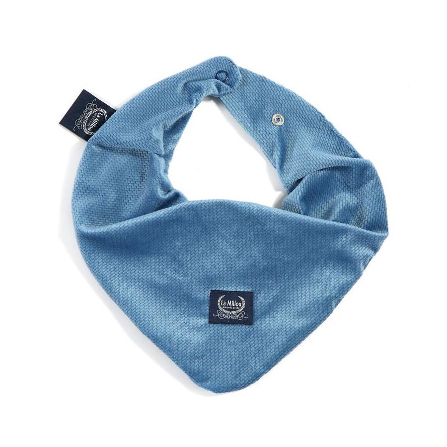 LA Millou VELVET very soft scarf DENIM COLLECTION