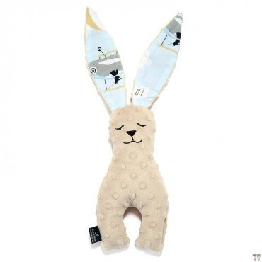LA MILLOU BUNNY TOY 23CM LATTE CAPTAIN ADVENTURE