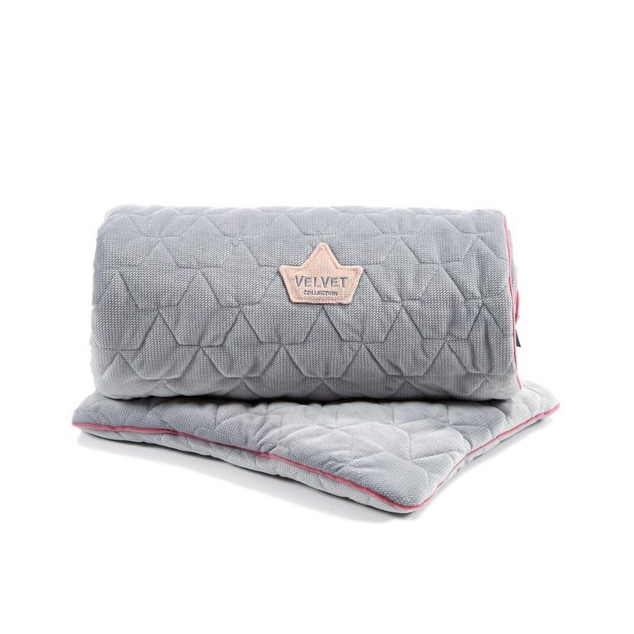 LA Millou VELVET COLLECTION SET Kilkenny blanket and pillow MID
