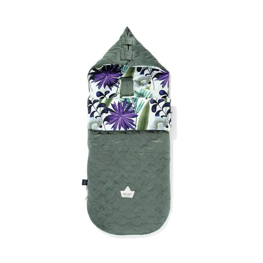 LA Millou VELVET BAG PREMIUM COLLECTION stroller sleeping bag M