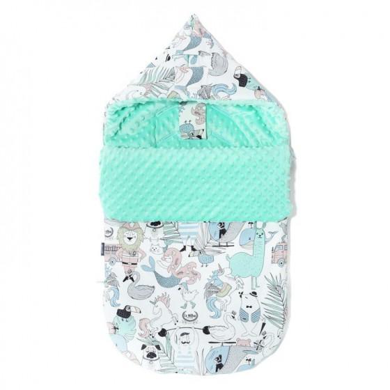 LA Millou stroller sleeping bag BAG PREMIUM S LA Millou FAMILY Vol.II OPAL