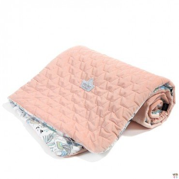 LA Millou VELVET COLLECTION cape KINDERGARTNER LA Millou FAMILY Vol.II POWDER PINK
