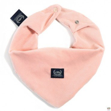 LA MILLOU WARM SCARF VELVET COLLECTION POWDER PINK