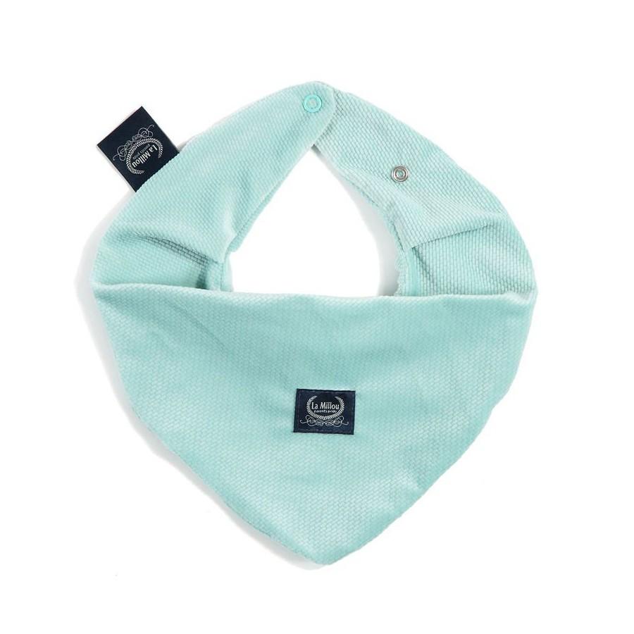 LA Millou VELVET COLLECTION AUDREY very soft scarf MINT